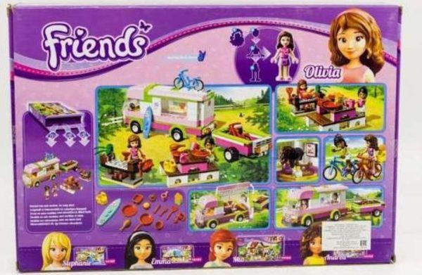 Конструктор Bela 10168 Оливия и домик на колёсах 314 деталей Аналог Lego Friends 3184