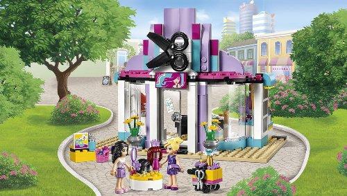 Конструктор Bela 10539 Парикмахерская в Хартлейке 341 деталь Аналог Lego Friends 41093