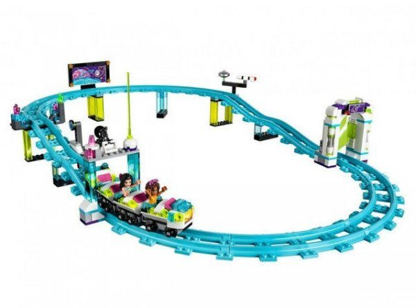Конструктор Bela 10563 Парк развлечений: Американские горки 1136 деталей аналог Lego Friends 41130