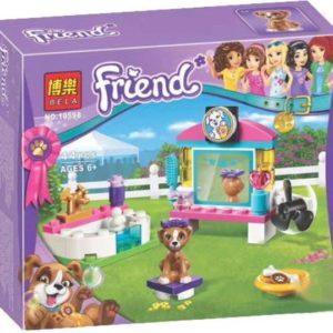 Конструктор Bela 10598 Выставка щенков: Салон Красоты 44 детали Аналог Lego Friends 41302