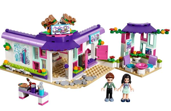 Конструктор Bela 10856 Арт-кафе Эммы 384 детали Аналог Lego Friends 41336