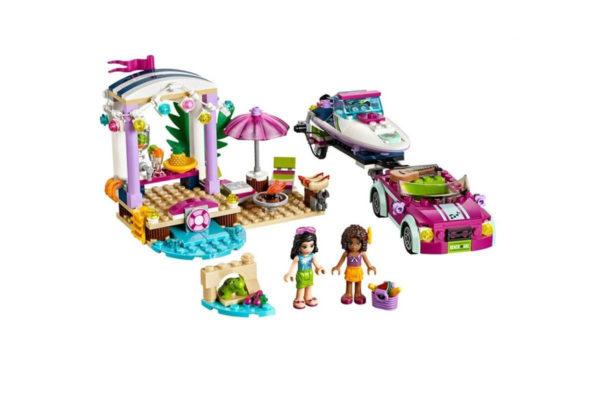 Конструктор Bela 10758 Скоростной Катер Андреа 314 деталей Аналог Lego Friends 41316