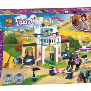 Конструктор Bela 11202 Стефани на скачках 343 детали аналог Lego Friends 41367