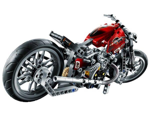 Конструктор Decool 3354 Мотоцикл, 378 деталей аналог Lego Technik