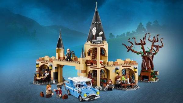 Конструктор Bela 11005 Гремучая Ива Хогвартса Гарри Поттер 789 деталей Аналог Lego Harry Potter 75953