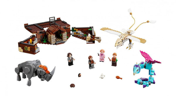 Конструктор Bela 11009 Чемодан Ньюта Саламандера 718 деталей Аналог Lego Harry Potter 75952