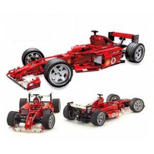 Конструктор Decool 3334 Ferrari F1 Гоночный автомобиль 726 деталей. Аналог Lego Technic 8386