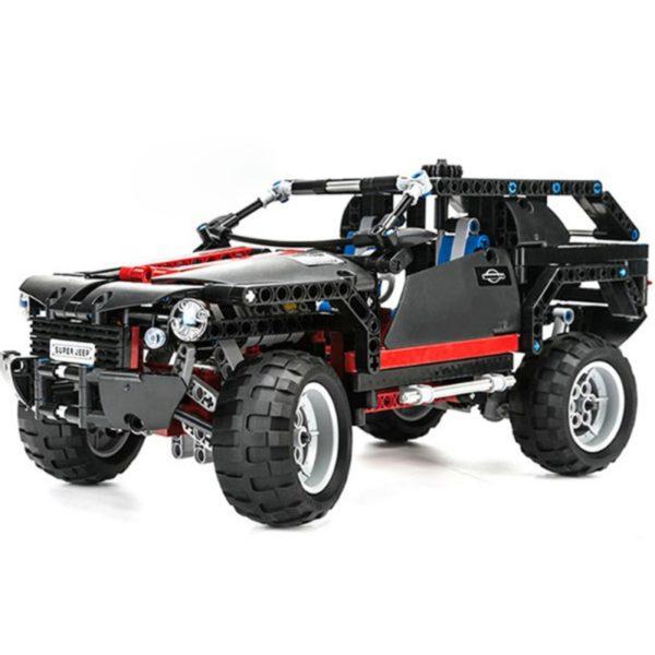 Конструктор Decool 3341 Экстремальный внедорожник, 589 деталей, аналог Lego Technik 8081