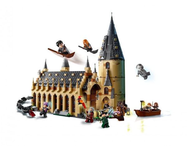 Конструктор Bela 11007 Большой зал Хогвартса Гарри Поттер аналог Lego Harry Potter 75954