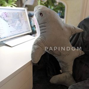 Акула мягкая игрушка